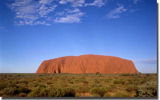 Uluru or Ayer's Rock
