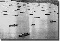 The British Convoy System in Two World Wars, and winning the Battle of the Atlantic - click to read more