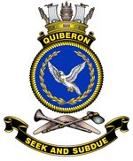 HMAS Quiberon's crest - click to read more
