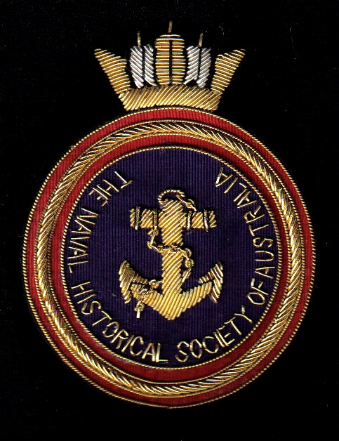 Crest of the Naval Historical Society of Australia