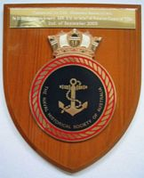 Plaque for the Victorian Chapter of the NHSA - click to read more