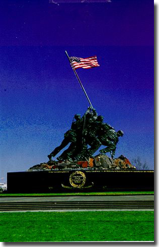 The Iwo Jima Memorial