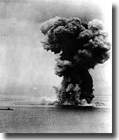 The mighty 72,000 ton Japanese Battleship Yamato