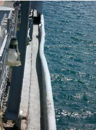 dent in USS