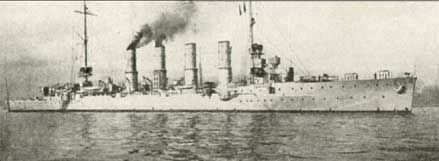 German Cruiser Madgeburg