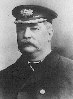 Captain William Knight aged 62, in command of SS Yongala at the time of her disappearance in 1911.