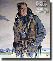 A recruiting Poster in WW2 for Squadron 603 in Scotland