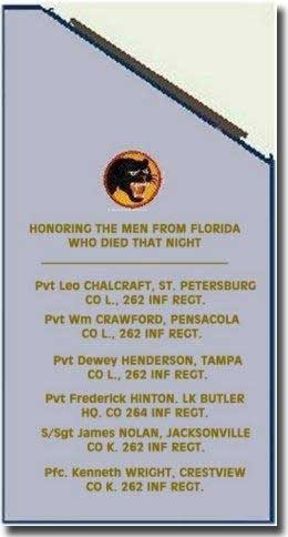 e men from Florida who died in the sinking of SS Leopoldville. Titusville, Florida