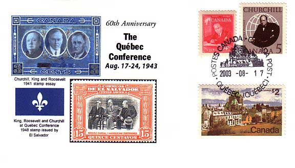 The Quebec Conference August 17- 24, 1943