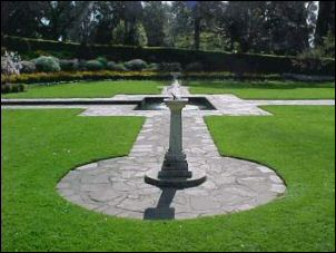 A sunken garden designed by Linaker was a special feature commemorating Victoria's pioneer women.