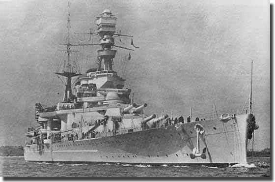 Battle Cruiser HMS Repulse
