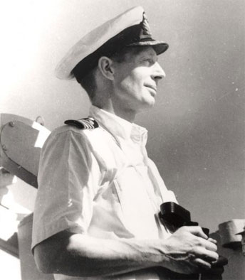 Captain John Collins RAN