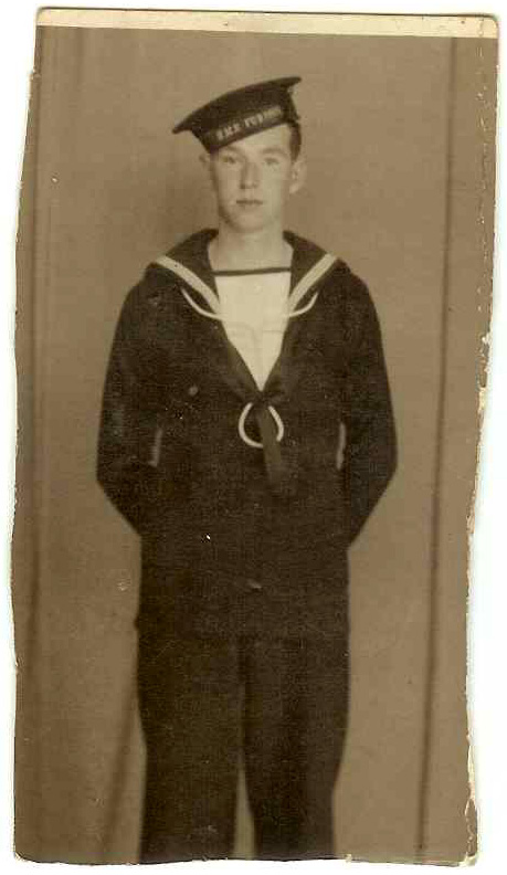 David McLean survived the sinking of the HMS Voltaire