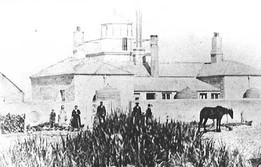 The old MacDonnell Lighthouse, circa 1870