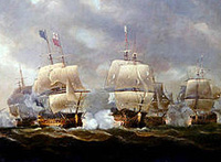 The Battle of Quiberon Bay November 20, 1759 -- click to read more