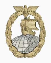 Auxiliary Cruiser War Badge
