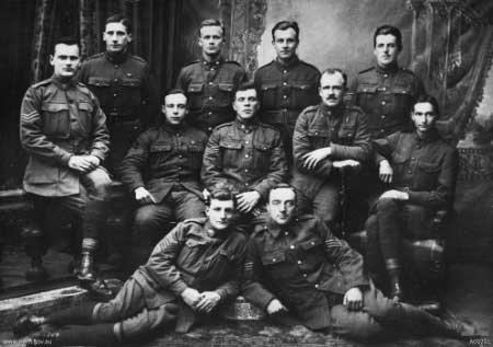 Australians serving with the ELOPE force in Russia 1919