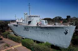 Bathurst Class of Australian Minesweepers in WW2 - click to learn more