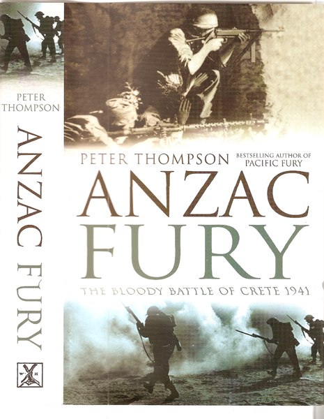 Peter Thompson's new book: Anzac Fury