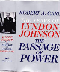 This 4th. Volume of Robert Caro's monumental work on Johnson which was commenced back in 1982, is easily his best work on this subject.