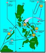 The Battle of Leyte Gulf. 23 - 26 October 1944, click to read the article.