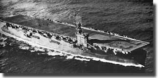 Gambier Bay, sunk in Battle off Samar,October 1944