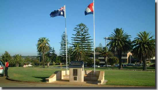 This is another memorial situated at Fremantle WA, dedicated to the Dutch Submarines that operated out of Fremantle during WW2