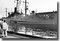 USS Liberty, attacked by Israeli aircraft and Motor Torpedo Boats for 75 minutes on the 8th. of June 1967 in International waters in the Mediterranean. 35 dead, 172 wounded.