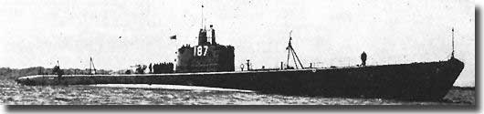 US submarine USS Sturgeon, sank POW ship Montevideo Maru 1st. July 1942