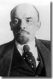 Lenin who took over after the October 1917 Revolution in Russia