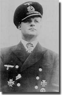 Oberleutnant Fritz-Julius Lemp in command of U-30 when SS Athenia was sunk just after the declaration of war on the 3rd. of September 1939