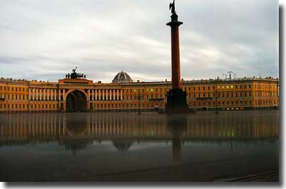 Palace square st petersburg