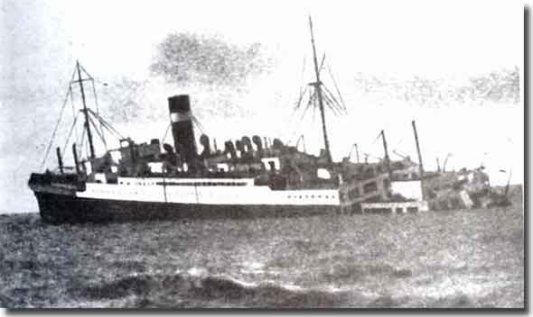 SS Athenia, First Casualty of the U-Boat War on the 3rd. of September 1939
