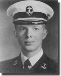Jimmy Carter as a Midshipman at Annapolis