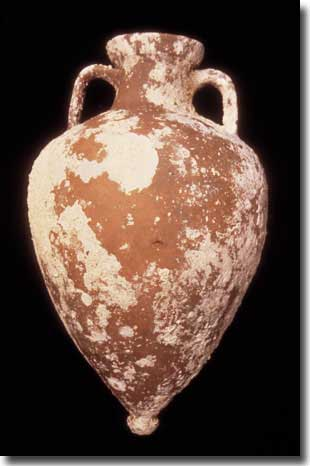 One of the amphora recovered from the Tektas wreck.