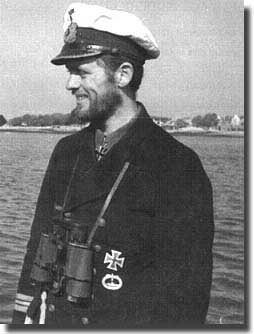 Kptlt Reinhard Hardgen, the most successful U-Boat commander of the 5 boats used in Operation Drumbeat, against shipping on the American East Coast, 11th January/ 6th. February 1942.