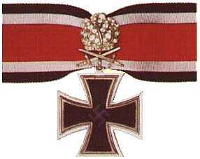 Knight's Cross of the Iron Cross with Oak Leaves, Swords, and Diamonds