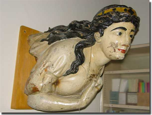 Figurehead of Seeadler