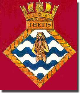 The crest of Thetis.