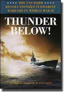 Book Cover for Eugene B Fluckey's Book Thunder Below