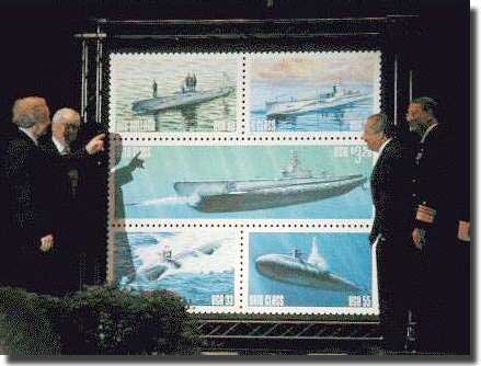 Submarine stamps