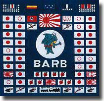 USS Barb's battle flag
