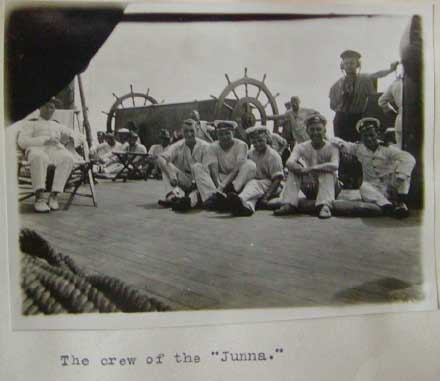 "Wolf - crew of the ""Junna"""