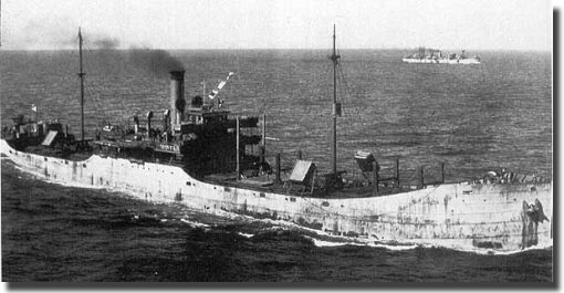 Collier Black Point of 5,353 tons, sunk by U-853 on the 5th. of May 1945.