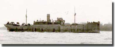 Empire Whale sunk by U-662, 1943