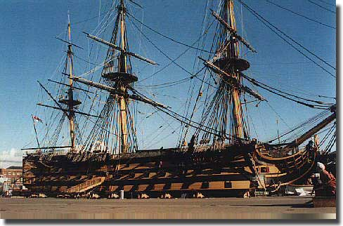 Lord Nelson's HMS Victory
