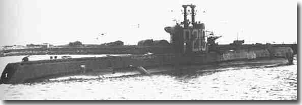HM Submarine Seraph who carried the body of the supposed Major William Martin to Southern Spain from the Clyde in 1943.