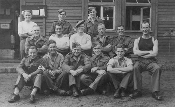 Voltaire prisoners- James McFarlane from Dundee centre row, 3rd from left