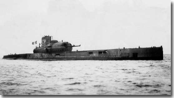 Of course as a precursor, we saw the advent of the French Submarine
