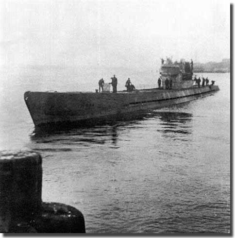 U-853, sank the collier Black Point,on the 5th. of May 1945, she was the last victim of the Battle of the Atlantic in US waters.